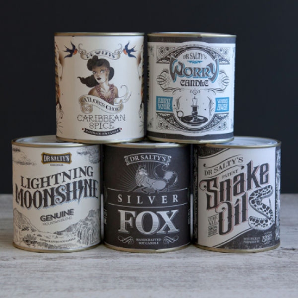 We dig this new range of Australian Made tin candles with incredible packaging!