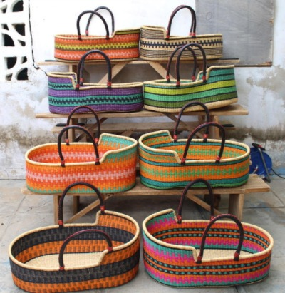 We love this range of handmade, fairtrade baskets created by local artisans in Ghana. We've written more about this range on our blog.