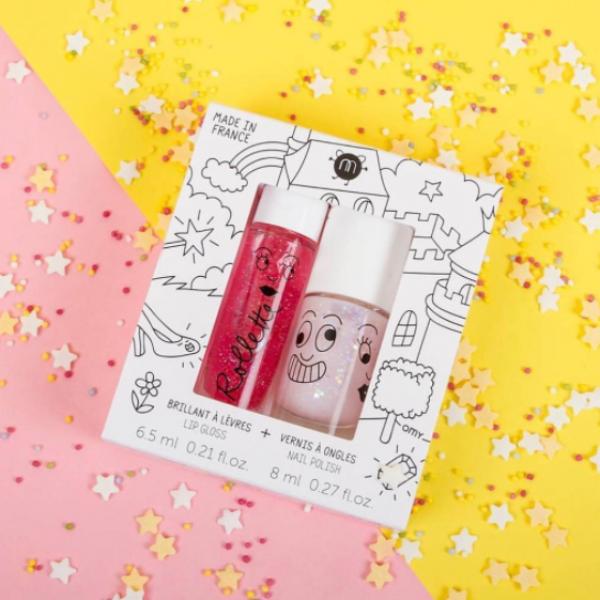 Nailmatics: This non-toxic range of Lip gloss and nail polish is back in stock!