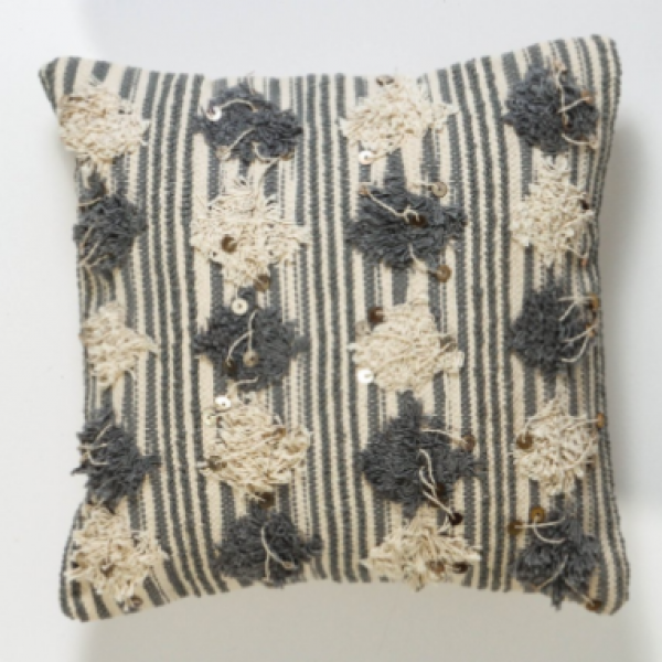 Boho meets Scandi with this gorgeous statement cushion!