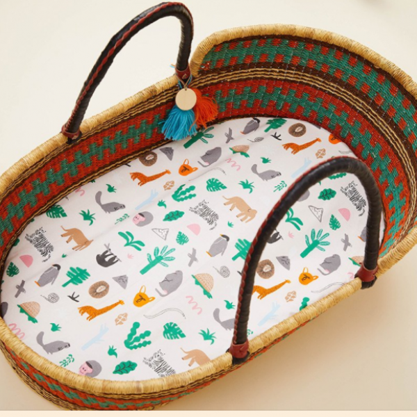 We have supercute baby bassinet sheets (Which also double as change mat covers)