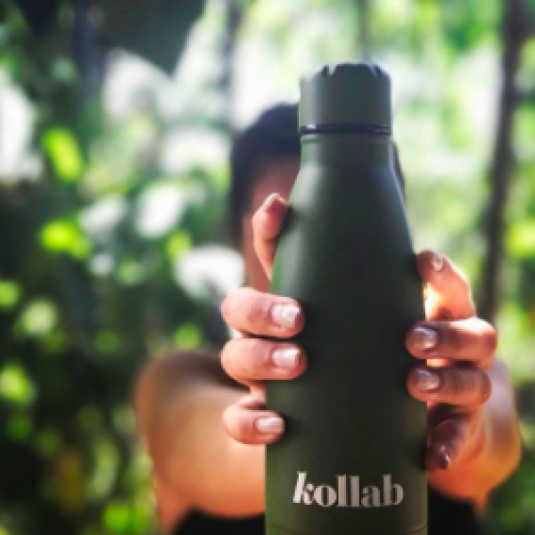 Keep your drinks hot or cold with these stainless steel 350ml bottles!