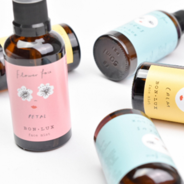 Change your mood with these Aussie Made, natural flowerface mists by Bon Lux