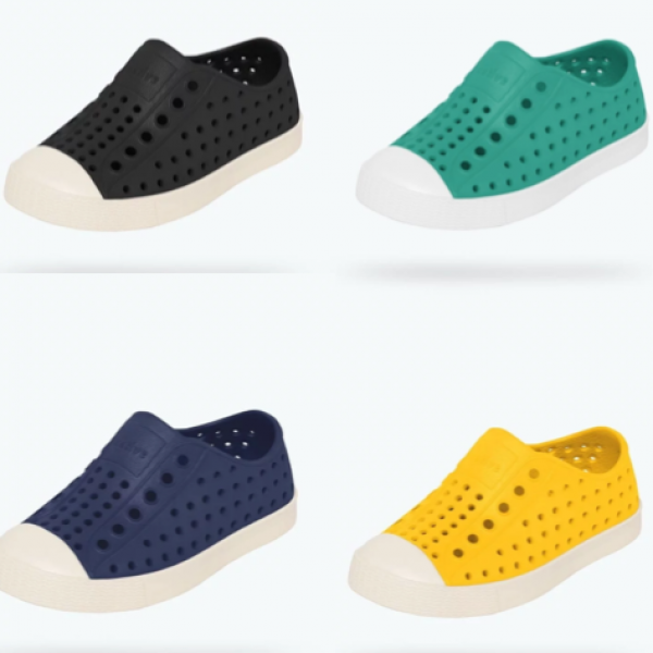 Introducing the Jefferson by Native Shoes; the best kids shoe for everyday!