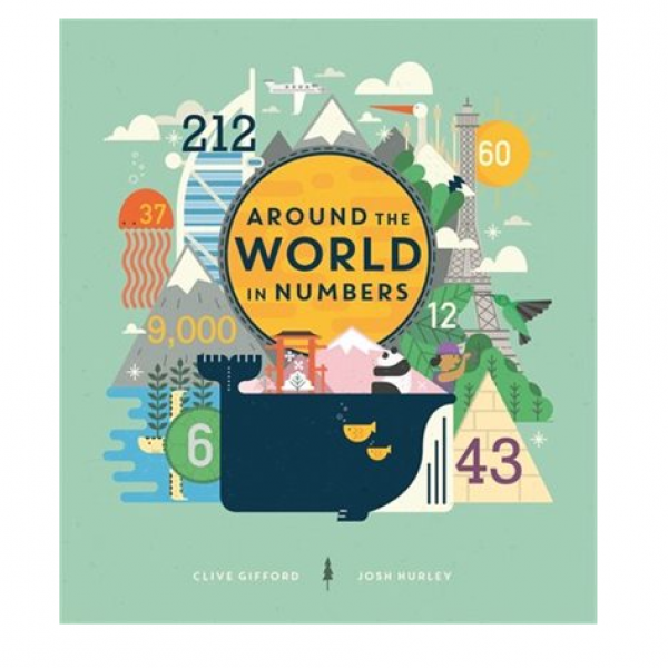 This is an incredible book with cool illustrations and facts about the world!