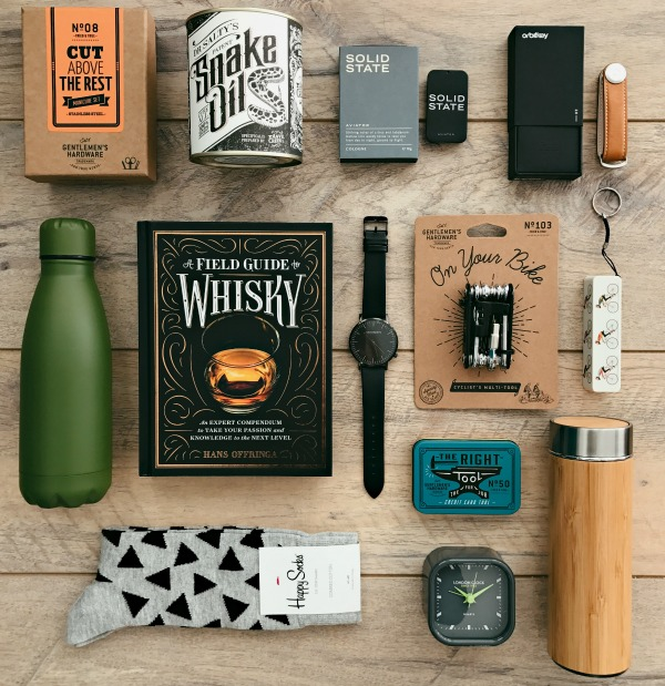 We've collated our best selling Fathers Day gift ideas from socks, flasks, key organisers, solid cologne and candles!
