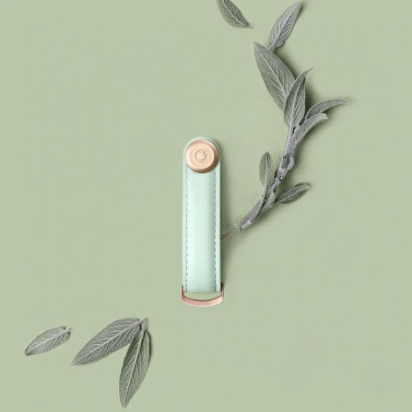 Orbit key's new feminine range: Sage, Blush & Stone Leather with Rose Gold!
