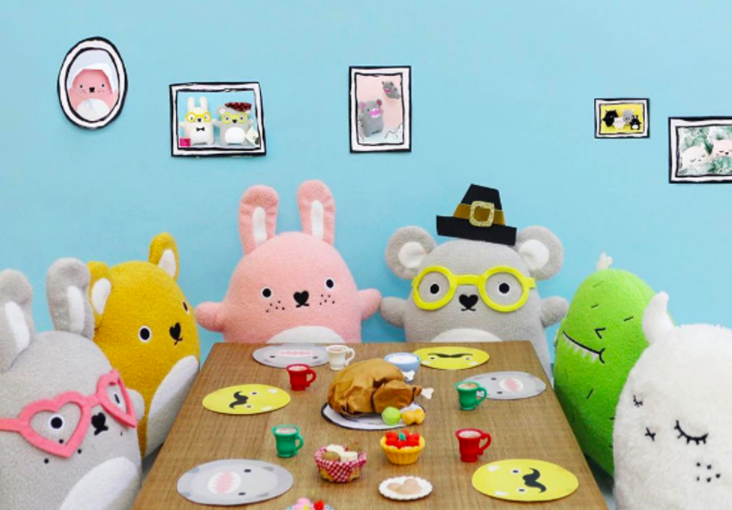 Noodoll Plush Toys are back: Each toy has its own unique personality and is so darn cute! Meet them all here....