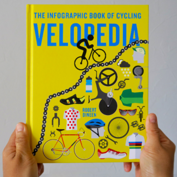 A brilliant gift for cycling enthusiasts in the form of illustrated infographs!