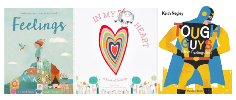Encourage your SuperCool Kid to express their feelings with these best selling and fun books about feelings!